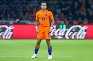Netherlands forward Memphis Depay (Olympique Lyonnais), during the Friendly match between Netherlands and England at the Amsterdam Arena, Amsterdam, Netherlands on 23 March 2018. Picture by Phil Duncan.