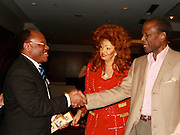 **EXCLUSIVE**.Ted Alemayhu, Chantal Biya, First Lady of Cameron, Mr. Wilson Jeudi, Mayor of the City of Delmas, Haiti, and Sidney Poitier..Pras Michel of The Fugees Honoring The First Ladies of Africa at a Cocktail Reception in partnership US Doctors For AFRICA..WP Wolfgang Puck Restaurant..Pacific Design Center..West Hollywood, CA, USA..Monday, April 20, 2009..Photo By Celebrityvibe.com.To license this image please call (212) 410 5354; or Email: celebrityvibe@gmail.com ; .website: www.celebrityvibe.com.