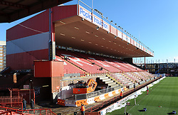 Building work starts on the Dolman stand at Ashton Gate as part of Bristol Sport's redevelopment of the stadium - Photo mandatory by-line: Paul Knight/JMP - Mobile: 07966 386802 - 18/01/2015 - SPORT - Rugby - Bristol - Ashton Gate Stadium - Bristol Rugby v Yorkshire Carnegie - Greene King IPA Championship