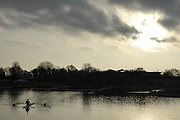 Eton, United Kingdom  General Views, GV's of the Boathouse. 2012 GB Rowing Trials, Dorney Lake. Near Windsor Berks Sunday  11/03/2012  [Mandatory Credit; Peter Spurrier/Intersport-images]