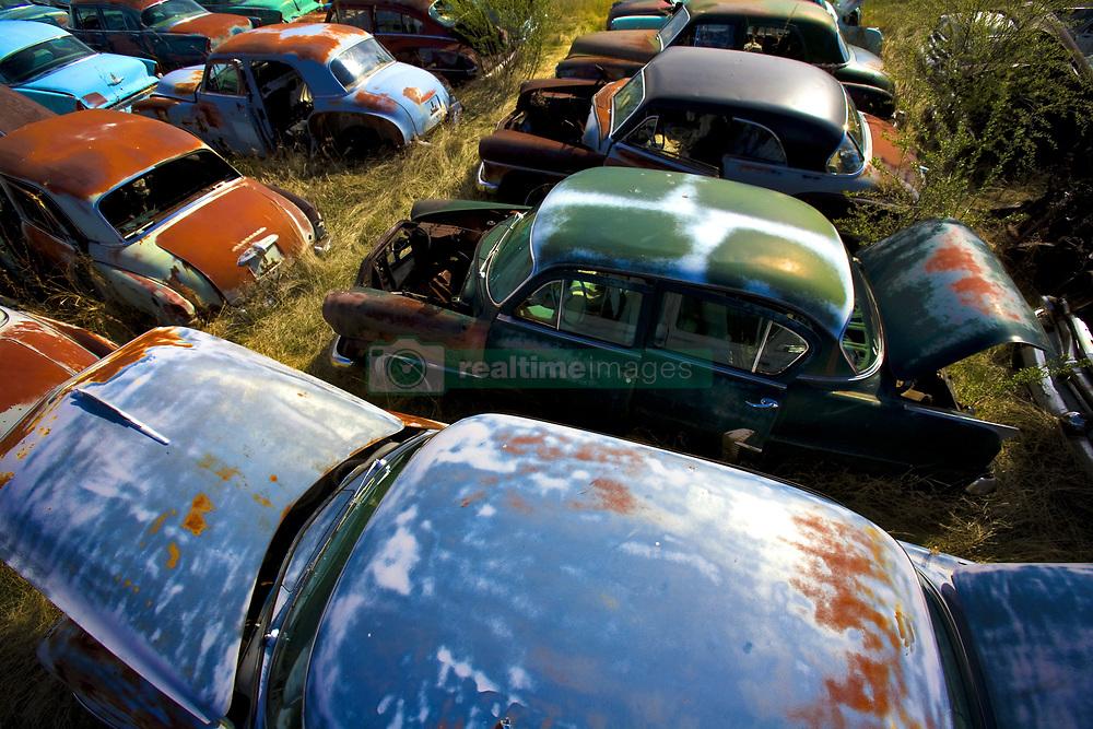 July 21, 2019 - Junkyard Of Cars (Credit Image: © Richard Wear/Design Pics via ZUMA Wire)
