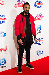 © Licensed to London News Pictures. 03/12/2016. CRAIG DAVID attends Capital's Jingle Bell Ball with Coca-Cola at London's O2 Arena London, UK. Photo credit: Ray Tang/LNP