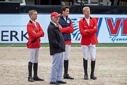 Teamp BEL, Weinberg Peter, Vermeir Willem, Philippaerts Olivier, Guery Jerôme, BEL<br /> CHIO Rotterdam 2021<br /> © Dirk Caremans<br />  02/07/2021