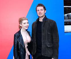 Edinburgh International Film Festival 2019<br /> <br /> Gwen (UK Premiere)<br /> <br /> Pictured: Eleanor Worthington-Cox and Director William McGregor<br /> <br /> Alex Todd | Edinburgh Elite media