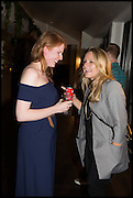 , CARIANNE WHITWORTH; CLARE WOODSFrieze party, ACE hotel Shoreditch. London. 18 October 2014