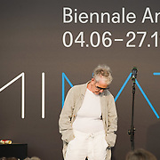 VENICE, ITALY - JUNE 04:  Artist  Elaine Sturtevant at the Official Awards  of the 54th International Art Exhibition on June 4, 2011 in Venice, Italy. This year's Biennale is the 54th edition and will run from June 4th until 27 November.