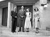 1952 The Wedding of Mr. Patrick Byrne and Miss Marshall