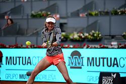 May 8, 2019 - Madrid, Spain - Aliaksandra Sasnovich (BLR)in her match against Naomi Osaka (JPN) during day five of the Mutua Madrid Open at La Caja Magica in Madrid on 8th May, 2019. (Credit Image: © Juan Carlos Lucas/NurPhoto via ZUMA Press)