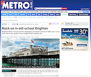 Brighton Pier / Metro.co.uk / February 2011
