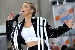 September 22, 2017 - New York, New York, USA - Fergie live bei einem Konzert der 'NBC Today Show Citi Concert Series' auf dem Rockefeller Plaza. New York, 22.09.2017 (Credit Image: © Future-Image via ZUMA Press)