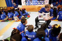 BBVA NBA All-Star event at Benjamin Franklin elementary school