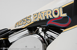 """""""Ness Patrol,"""" theme bike by Arlen Ness. Appears in the book """"The King of Choppers,"""" by Michael Lichter and Arlen Ness."""