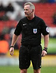 Referee Mark Heywood