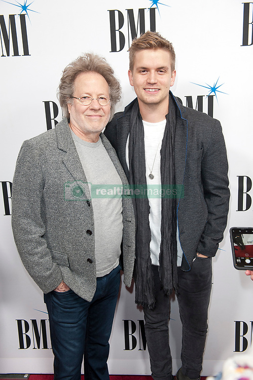 Nov. 13, 2018 - Nashville, Tennessee; USA - Singer LEVI HUMMON and STEVE DORFF attends the 66th Annual BMI Country Awards at BMI Building located in Nashville.   Copyright 2018 Jason Moore. (Credit Image: © Jason Moore/ZUMA Wire)
