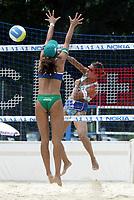 29/07/04 KLAGENFURT (AUSTRIA)  <br />NELLA FOTO HAKEDAL ATTACKS AGAINST ANA PAULA (BRASIL)<br />FOTO LUCIANO PIERANUNZI