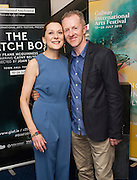 18/07/2015 repro free.Cathy Belton and Ben Roe at the World Premiere of The Match Box  a The Galway International Arts Festival at the Town Hall Theatre, Galway .  <br /> Photo:Andrew Downes:XPOSURE