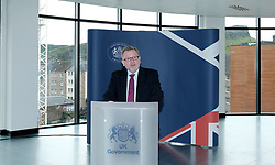Scottish Secretary of State David Mundell received the keys to the new UK Government building in Edinburgh.<br /> <br /> The new hub is due to open in early 2020 and bring together nearly 3,000 UK Government civil servants.<br /> <br /> Pictured: David Mundell MP<br /> <br /> Alex Todd   Edinburgh Elite media