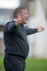 Inverness Caledonian Thistle's manager John Robertson. Brechin City 0 v 4 Inverness Caledonian Thistle, Scottish Championship game played 26/8/2017 at Brechin City's home ground Glebe Park.