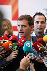 "October 3, 2018 - Madrid, Spain - President of the political party ""Ciudadanos"", ALBERT RIVERA. South Summit is the leading Innovation Global Platform which connects top innovators from Southern Europe and Latin America to the world«s most powerful investors, and corporations, who are searching for the next big thing. (Credit Image: © Jesus Hellin via ZUMA Wire)"