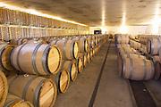 barrel aging cellar chateau guiraud sauternes bordeaux france