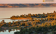 Fort Peck Reservoir from The Pines near Fort Peck. Montana, USA