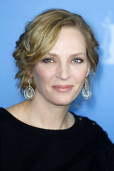 61036833<br /> Uma Thurman during the Nymphomaniac Volume I press conference at the 64th Berlin International Film Festival / Berlinale 2014, Berlin, Germany, Sunday, 9th February 2014. Picture by  imago / i-Images<br /> UK ONLY