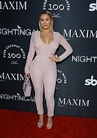 Francesca Ricci at MAXIM Magazine's Official Release of their Sept./Oct. Issue Hosted by Cover Model Vita Sidorkina held at Nightingale on September 28, 2019 in Los Angeles, California, United States (Photo by © VipEventPhotography.com