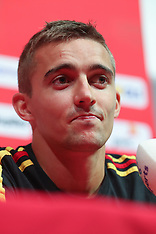 Belgium Press Conference and Training - 05 Sept 2018
