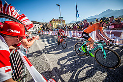 EENKHOORN Pascal of Netherlands during the Men Under 23 Road Race 179.9km Race from Kufstein to Innsbruck 582m at the 91st UCI Road World Championships 2018 / RR / RWC / on September 28, 2018 in Innsbruck, Austria.  Photo by Vid Ponikvar / Sportida