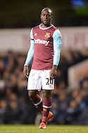 Victor Moses of West Ham United looking on. Barclays Premier league match, Tottenham Hotspur v West Ham Utd at White Hart Lane in London on Sunday 22nd November 2015.<br /> pic by John Patrick Fletcher, Andrew Orchard sports photography.