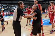 DESCRIZIONE : 3° Torneo Internazionale Geovillage Olbia Sidigas Scandone Avellino - Brose Basket Bamberg<br /> GIOCATORE : Emanuele Aronne Stefano Sacripanti<br /> CATEGORIA : Fair Play Postgame<br /> SQUADRA : Sidigas Scandone Avellino<br /> EVENTO : 3° Torneo Internazionale Geovillage Olbia<br /> GARA : 3° Torneo Internazionale Geovillage Olbia Sidigas Scandone Avellino - Brose Basket Bamberg<br /> DATA : 05/09/2015<br /> SPORT : Pallacanestro <br /> AUTORE : Agenzia Ciamillo-Castoria/L.Canu