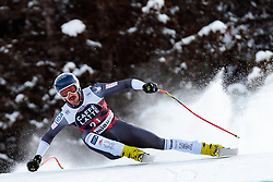 28.12.2017, Stelvio, Bormio, ITA, FIS Weltcup, Ski Alpin, Abfahrt, Herren, im Bild Bryce Bennett (USA) // Bryce Bennett of the USA in action during mens Downhill of the FIS Ski Alpine Worldcup at the Stelvio course, Bormio, Italy on 2017/12/28. EXPA Pictures © 2012, PhotoCredit: EXPA/ Johann Groder