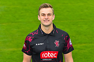 Head shot.  Tim Rouse wearing the Somerset Royal London One-Day Cup kit at the media day at Somerset County Cricket Club at the Cooper Associates County Ground, Taunton, United Kingdom on 11 April 2018. Picture by Graham Hunt.