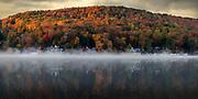 Harveys Lake in Autumn by Darren Elias