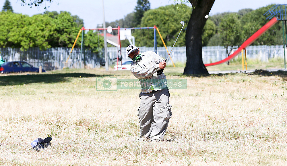 South Africa - Cape Town - 20 October 2020 - While popular sports like tennis, cricket or rugby are played on standardised playing fields—golf is a unique sport in that it can be played on a variety of different courses that offer very different challenges. The Cape Flats in Montana is home to a wide array of courses that'll test any golfer's skills with driver, iron or putter. Here golfer David van der Ross prepares to put on their course in Montana. Picture Leon Lestrade. African News Agency/ANA.