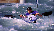 © 2000 All Rights Reserved - Peter Spurrier Sports Photo. K1  Slalom Canoe - Sydney Olympics 2000 - Penrith Lakes, NSW..First run 19th Sept 2000  Paul Ratcliffe. [Mandatory Credit. Peter Spurrier:Intersport Images]