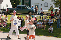 Sanbornton Old Home Day parade and festivities July 16, 2011..