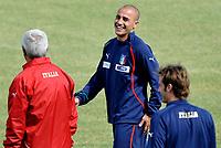 Fotball<br /> Italia<br /> Foto: Insidefoto/Digitalsport<br /> NORWAY ONLY<br /> <br /> Fabio Cannavaro<br /> <br /> Allenamento della Nazionale Italiana durante il ritiro di Sestriere<br /> 27.05.2010