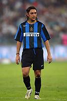Bari 3/8/2004 Trofeo Birra Moretti - Juventus Inter Palermo. <br /> <br /> Alvaro Recoba Inter<br /> <br /> Risultati / results (gare da 45 min. each game 45 min.) <br /> <br /> Juventus - Inter 1-0 Palermo - Inter 2-1 Juventus b. Palermo dopo/after shoot out <br /> <br /> Photo Andrea Staccioli
