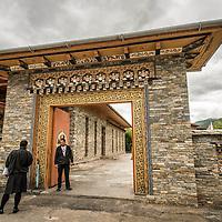 Terma Linka Hotel, Thimpu, Bhutan <br /> <br /> Full photoessay at http://xpatmatt.com/photos/bhutan-photos/