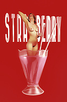 Is it refreshing to take a dip in a strawberry milkshake? Very few people can actually answer that question. It doesn't seem likely that the nude, beautiful woman depicted in this piece is going to give us any answers either. In the end, you could make the case that it probably doesn't matter. This is a powerful, engaging piece of fine art that combines a classic desert treat with the nude human form. The result is something that you have never quite seen in this form before. You can bring this one-of-a-kind piece into just about any space you can imagine. .<br /> <br /> BUY THIS PRINT AT<br /> <br /> FINE ART AMERICA<br /> ENGLISH<br /> https://janke.pixels.com/featured/strawberry-jan-keteleer.html<br /> <br /> <br /> WADM / OH MY PRINTS<br /> DUTCH / FRENCH / GERMAN<br /> https://www.werkaandemuur.nl/nl/shopwerk/Pop-Art---Strawberry/438194/134