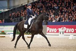 Huberts Carlijn, NED, Cupido<br /> KWPN Stallionshow - 's Hertogenbosch 2018<br /> © Hippo Foto - Dirk Caremans<br /> 02/02/2018