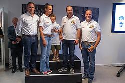 Team Reining, Welter Danny, (Chef d'Equipe), Fonck-Poels Ann, Verschueren Dries, Fonck Bernard<br /> Team presentation for WEG Tryon 2018<br /> Zaventem 2018<br /> © Hippo Foto - Dirk Caremans<br /> 22/08/2018