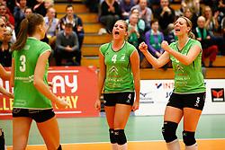 20141217 NED: Challenge Cup, Coolen Alterno - VDK Gent: Apeldoorn<br />Lisette Stindt, Anne Britt Kneijnsberg, Coolen Alterno<br />©2014-FotoHoogendoorn.nl / Pim Waslander