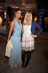 Left to right, sisters AMBER LE BON and SAFFRON LE BON at the Royal Academy of Arts Summer Party held at Burlington House, Piccadilly, London on 3rd June 2009.