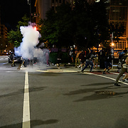 Protests in D.C. carry into the night, with more than 1,000 at Lafayette Park near the White House. Protesters are out nationwide after the killing of George Floyd by Minneapolis police. DC Metro police, secrete service police and Park police eventually pushed the protesters out of the park and into the streets of D.C.