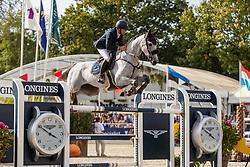 Vermeir Wilm, BEL, Hotshot<br /> FEI WBFSH Jumping World Breeding Championship for young horses Zangersheide Lanaken 2019<br /> © Hippo Foto - Dirk Caremans