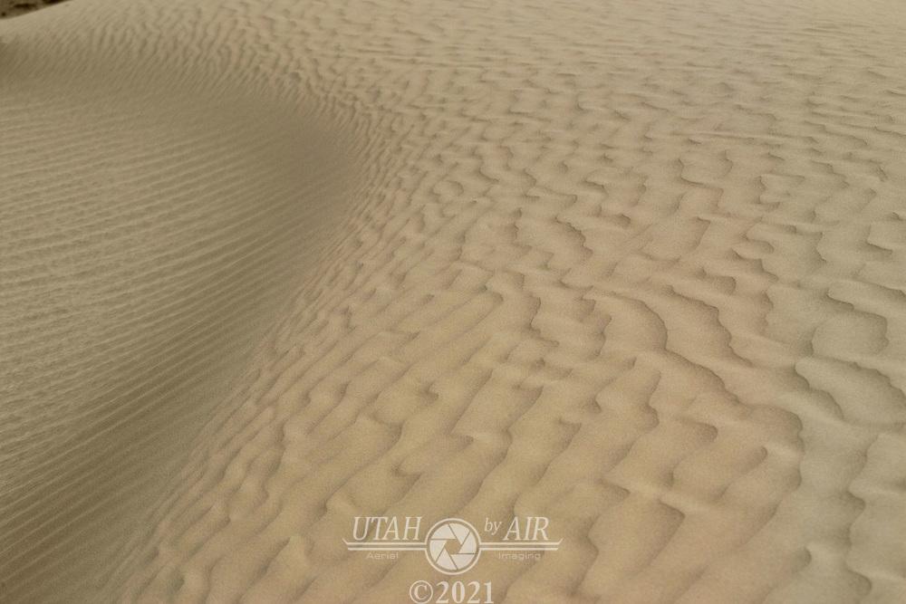 Sand dunes at Little Sahara State Park, Utah