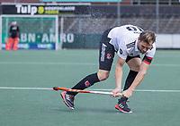 AMSTELVEEN -  Mirco Pruyser (Amsterdam)  tijdens de hockey hoofdklasse competitiewedstrijd  heren, Amsterdam-HC Tilburg (3-0).  COPYRIGHT KOEN SUYK