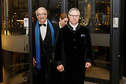 Brussels , 01/02/2020 : Les Magritte du Cinema . The Academie Andre Delvaux and the RTBF, producer and TV channel , present the 10th Ceremony of the Magritte Awards at the Square in Brussels . Departure from The Hotel<br /> Pix : Pascal Duquenne , dressed by Maison Degand<br /> Credit : Thierry Roge / Isopix